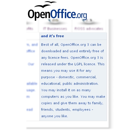 From Openoffice.org