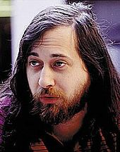 Richard Stallman, founder of the GNU project